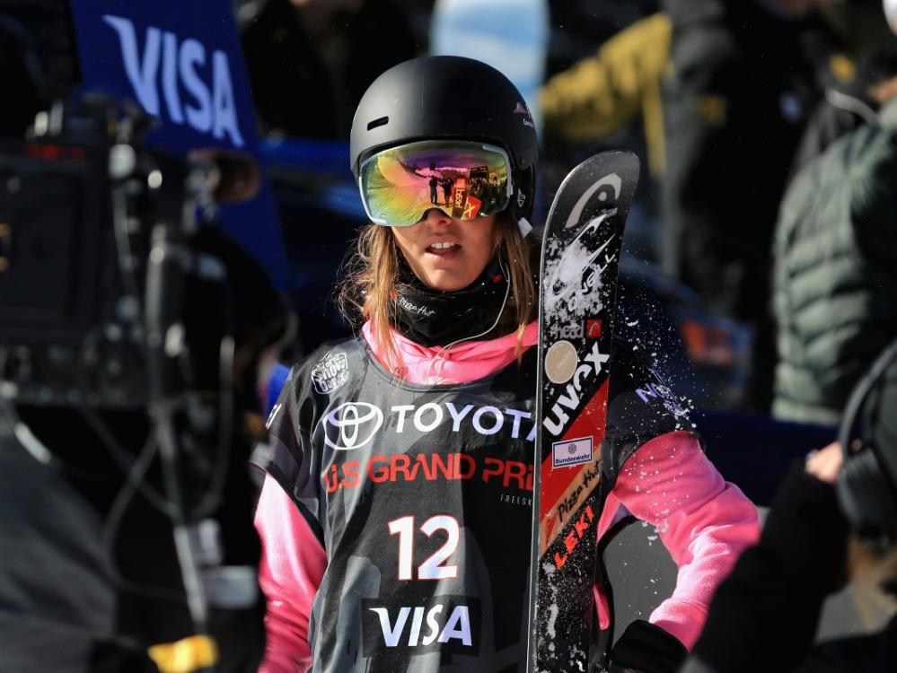 Sabrina Cakmakli wird in der Halfpipe von Snowmass Sechste