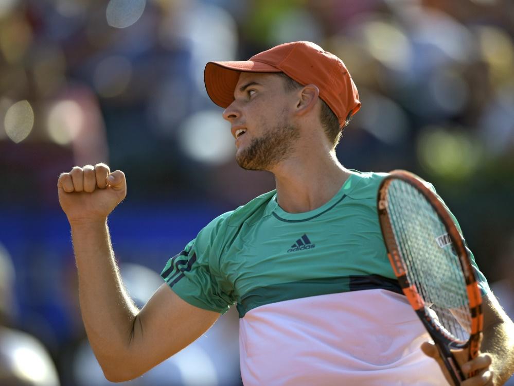 Dominic Thiem gewinnt in Buenos Aires