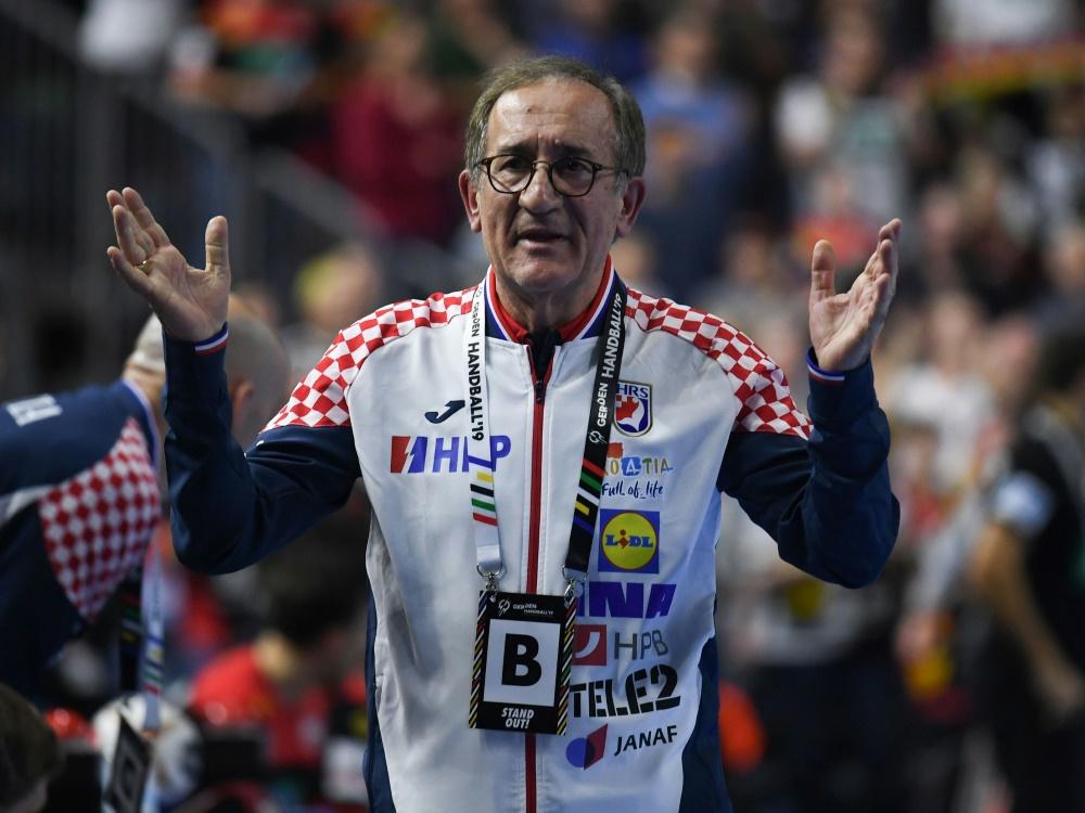 Lino Cervar übte deutliche Kritik an den Schiedsrichtern
