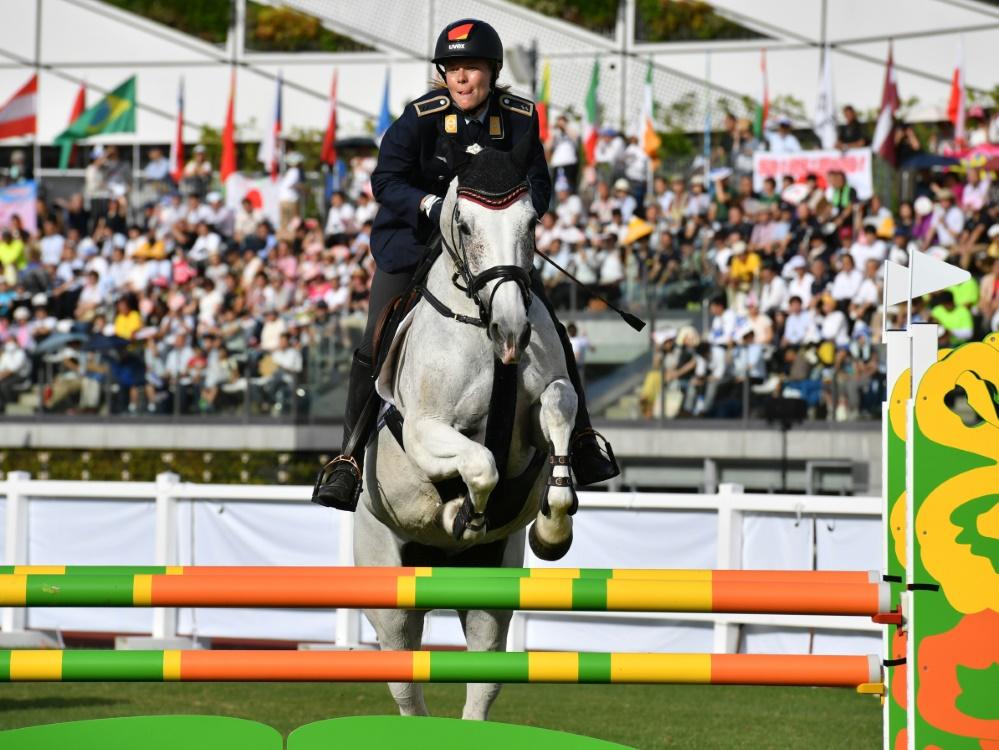 Annika Schleu erreichte bei der EM den fünften Platz