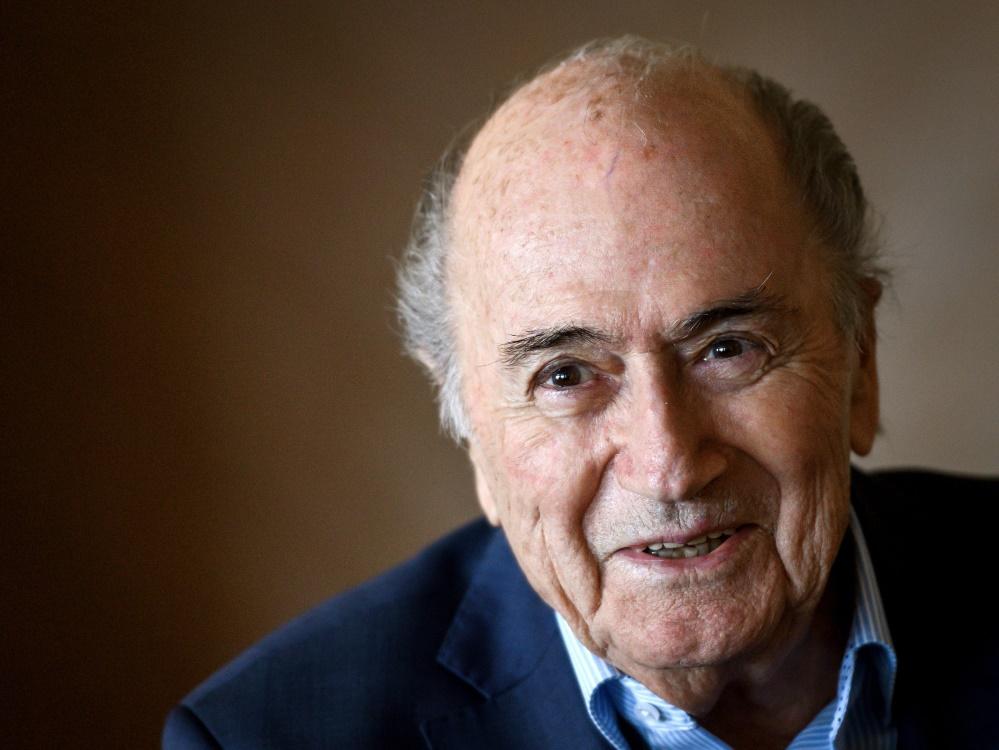 Joseph S. Blatter geht es wieder besser