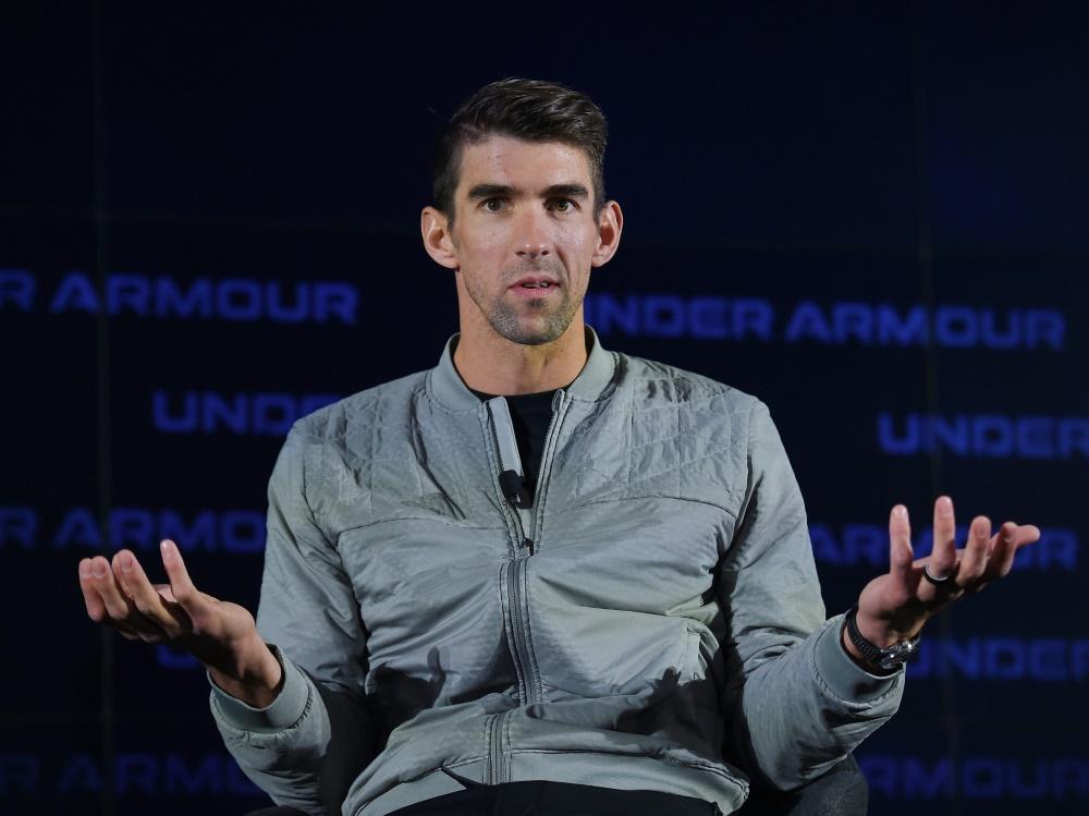 Der 23-malige Goldmedaillen-Gewinner Michael Phelps