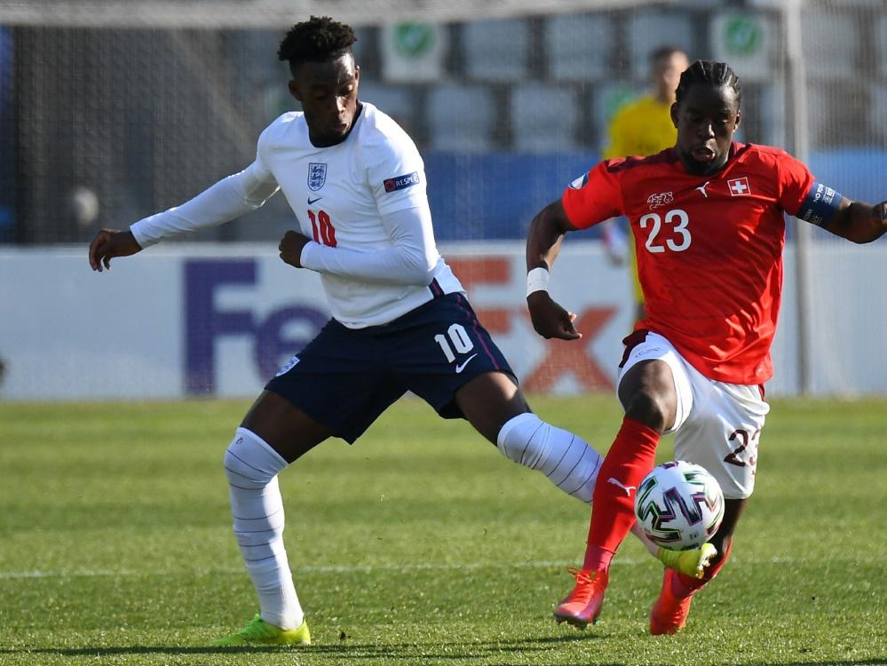 Callum Hudson-Odoi und Englands U21 mit Fehlstart