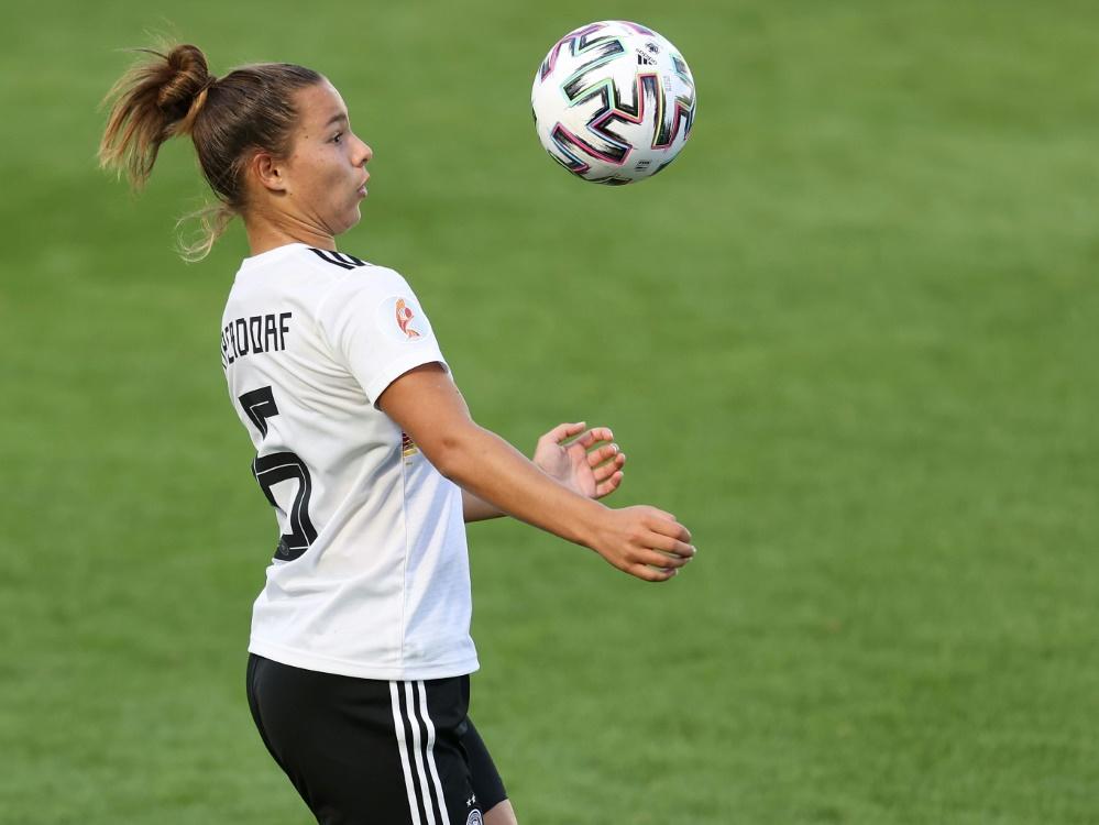 Lena Oberdorf ist Nationalspielerin des Jahres 2020