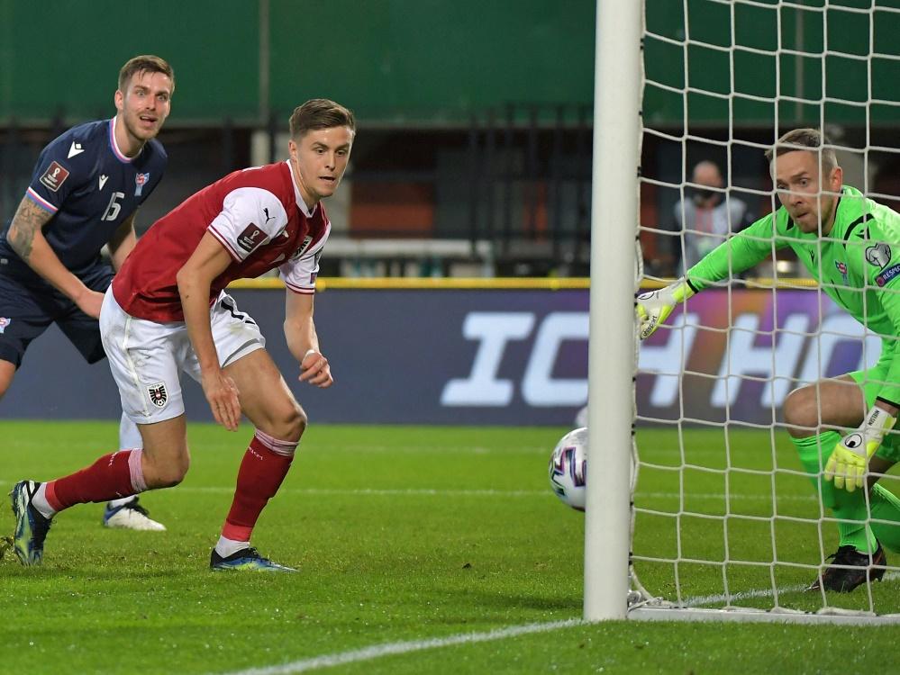 Christoph Baumgartner will mit dem ÖFB-Team einen Sieg bei der EM feiern