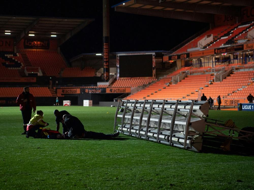 Ein Greenkeeper wurde in Lorient schwer verletzt