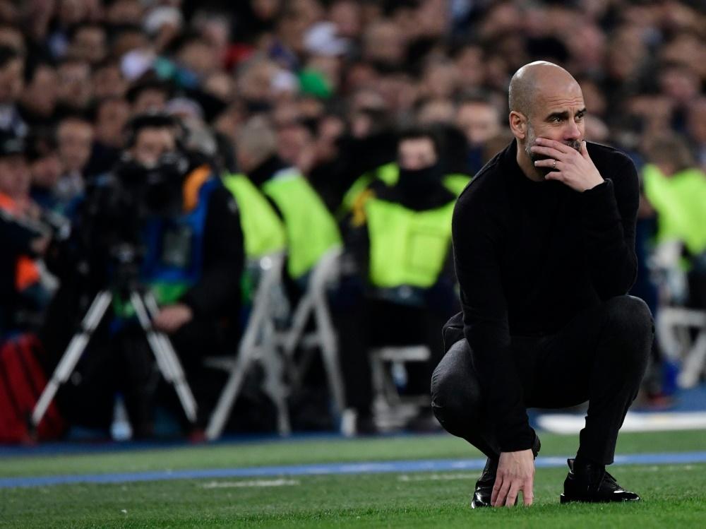Fette Überraschung? Rank und schlank war Pep Guardiola vor der Krise