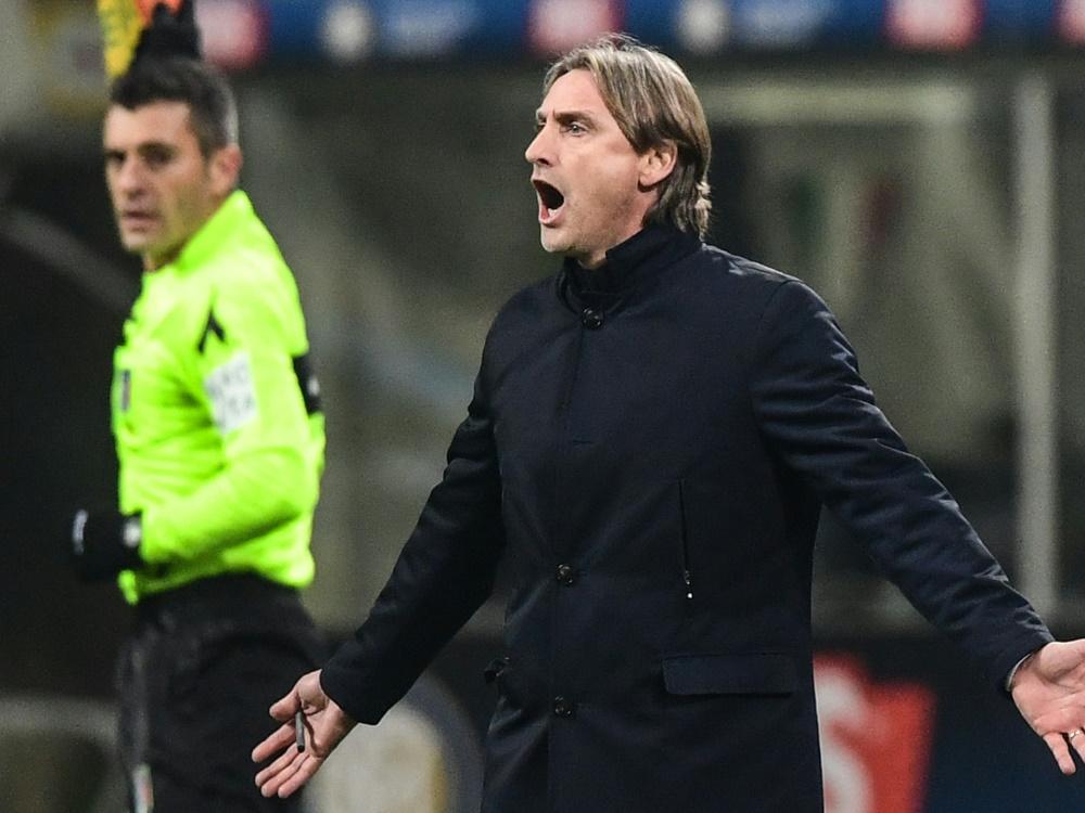 Davide Nicola ist nicht länger Trainer in Genua