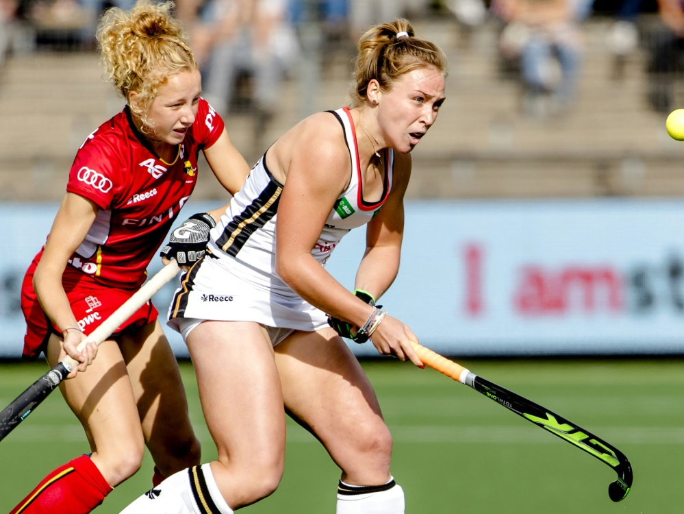 Die deutschen Hockey-Damen gewinnen auch Spiel 2