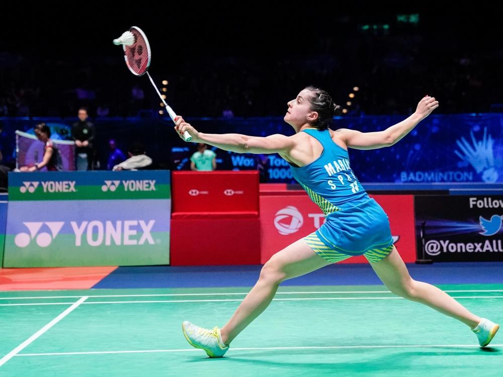 Carolina Marin gewann zum dritten Mal den WM-Titel