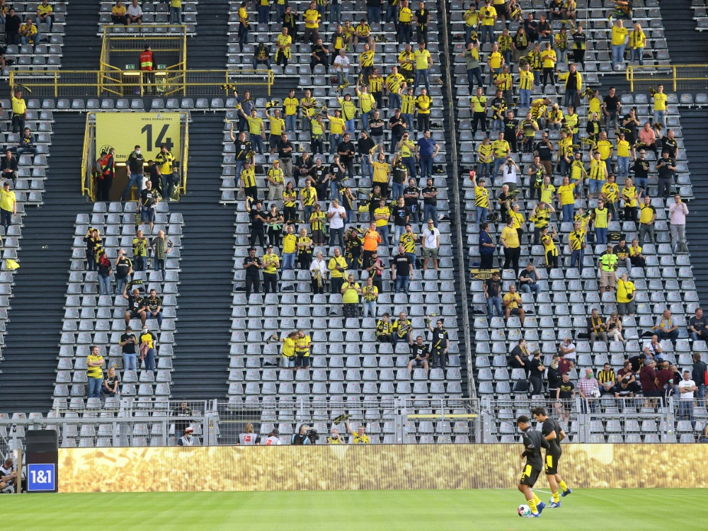 Fans haben gemischte Gefühle bei Rückkehr ins Stadion