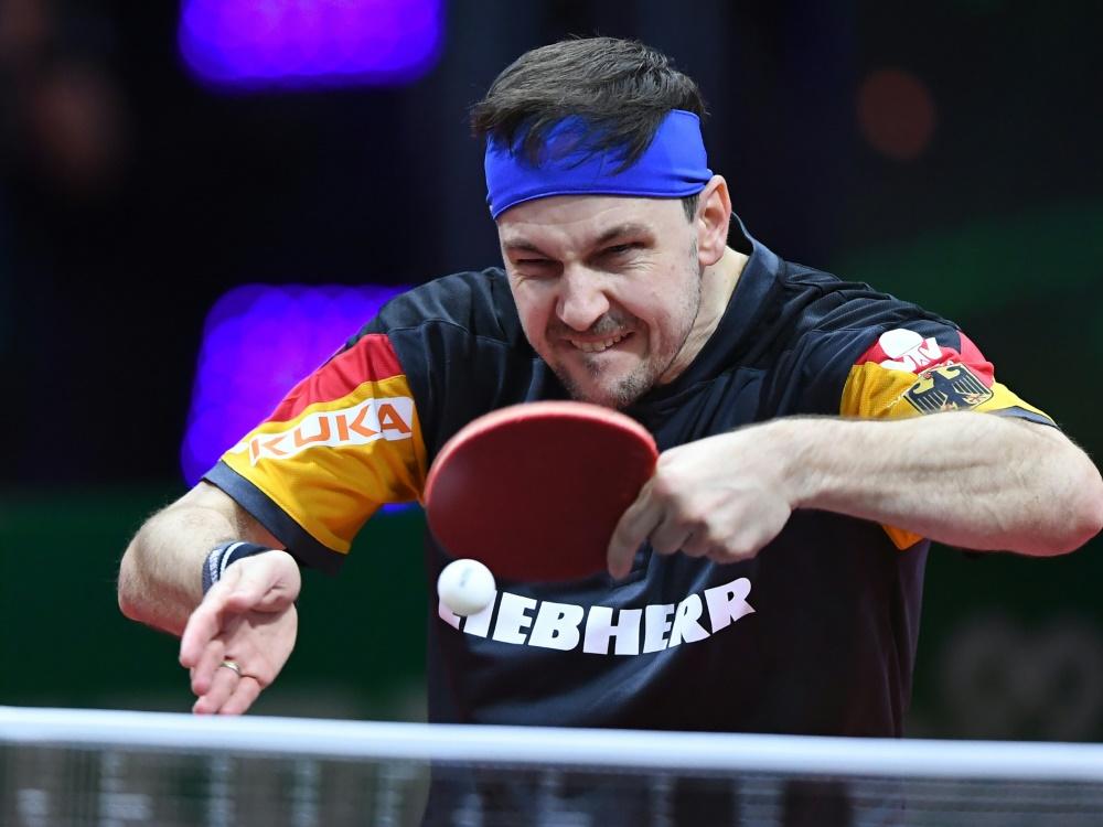 Boll trifft auf Ovtcharov
