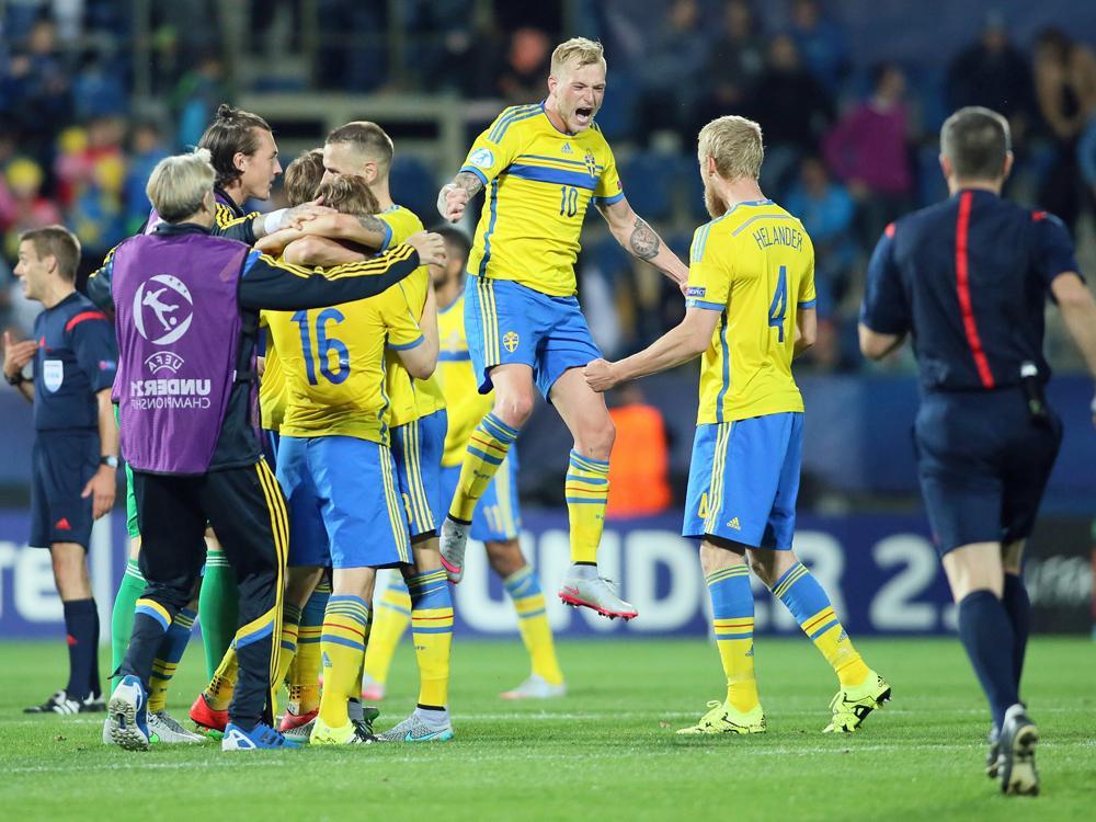 Schweden folgt Portugal ins Finale der U21-EM