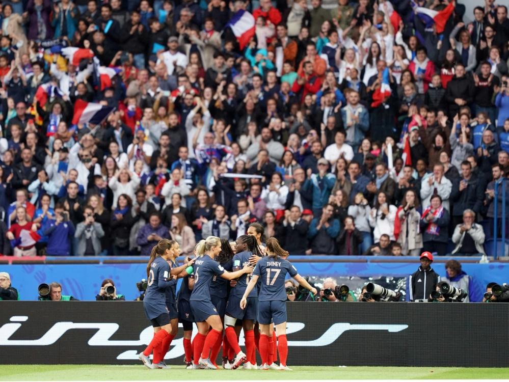Die Spiele der Französinnen sind alle ausverkauft