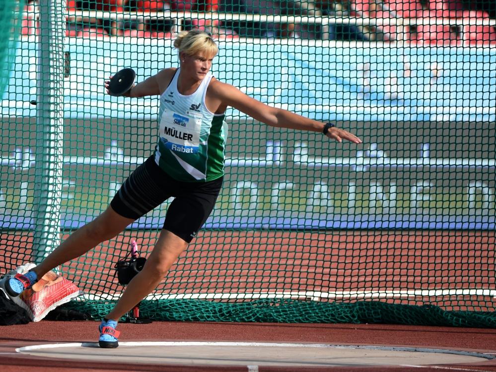 Nadine Müller landete als beste Deutsche auf Rang fünf