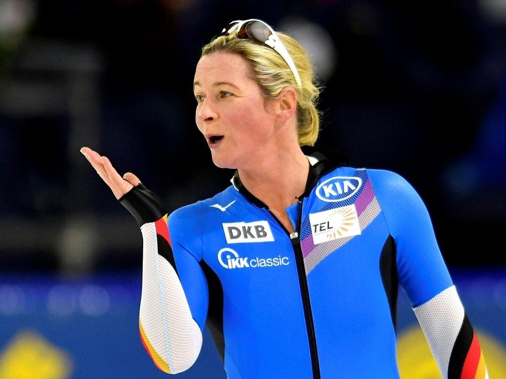 Claudia Pechstein könnte Fahnenträgerin bei Olympia sein