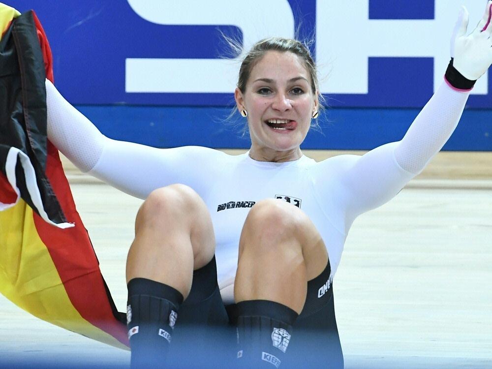 """Kristina Vogel ist """"Champion des Jahres"""""""