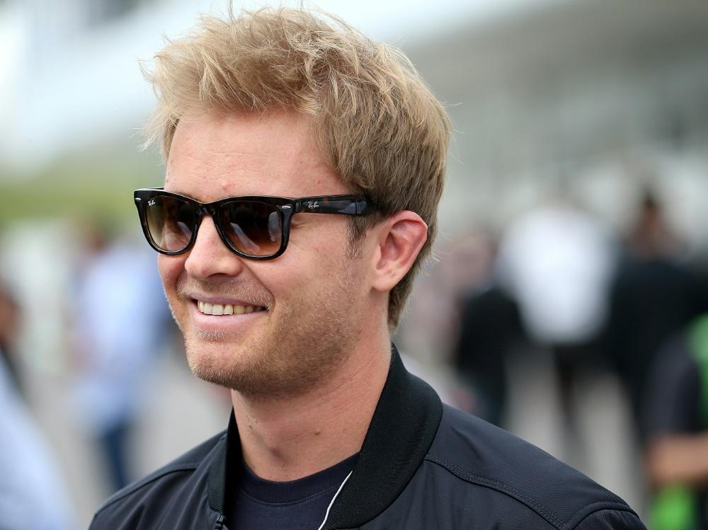 Nico Rosberg wird beim Sportpresseball geehrt