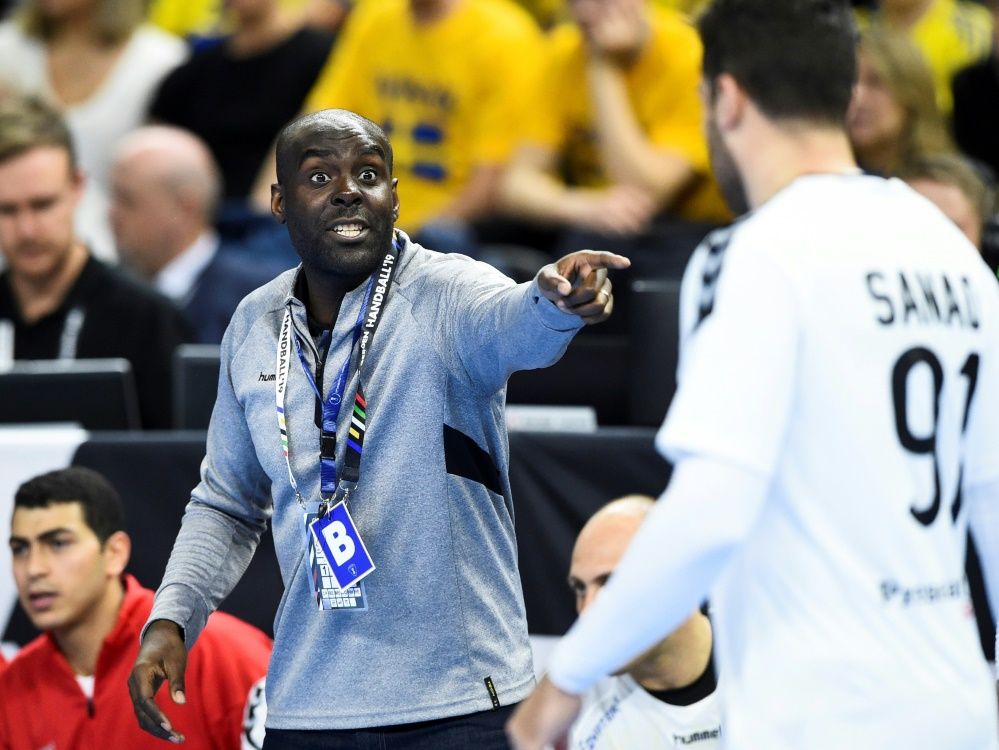 Ägyptens Trainer David Davis kann zufrieden sein