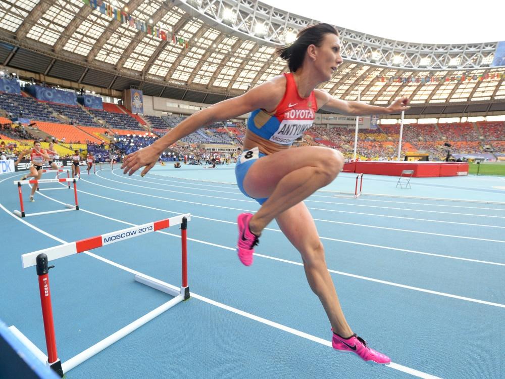 Natalya Antyuch muss sich Dopingvorwürfen stellen