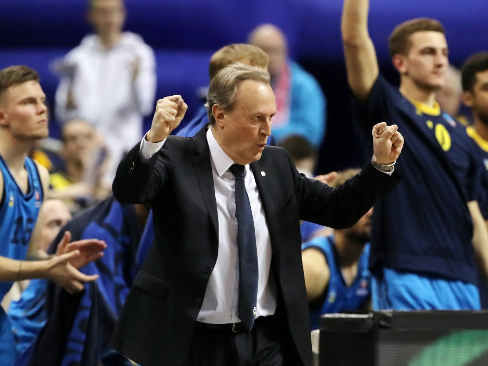 Trainer Aito Garcia Reneses will mit Alba ins Finale