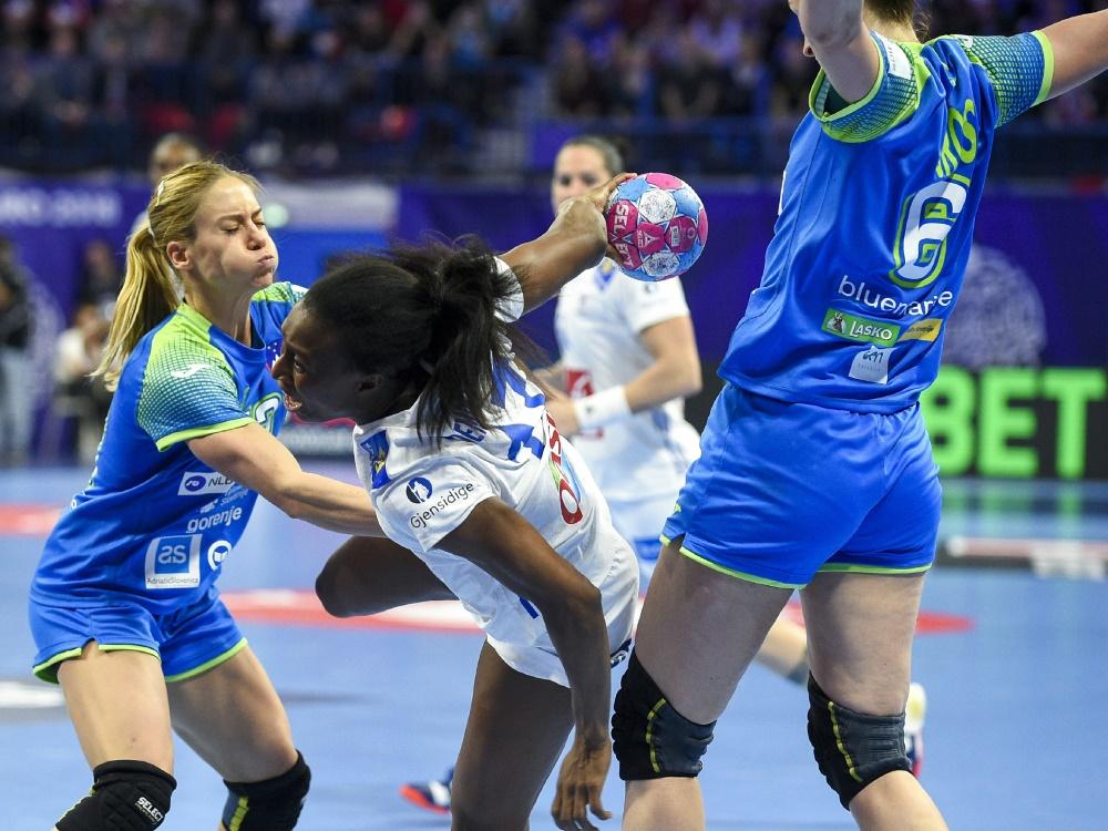 Frankreichs Handballerinnen mit Fehlstart in WM