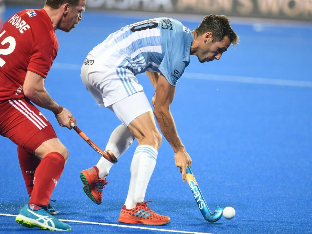 England gewann gegen Olympiasieger Argentinien mit 3:2