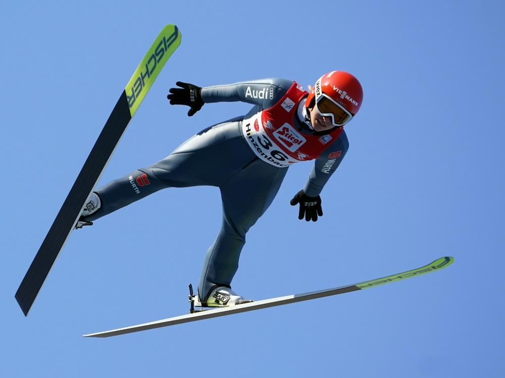 Katharina Althaus sprang auf Rang zehn
