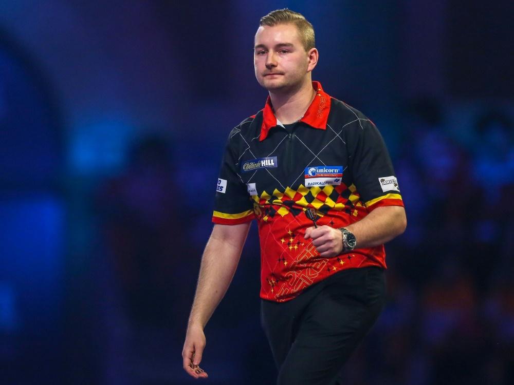 Dimitri Van den Bergh steht im Viertelfinale