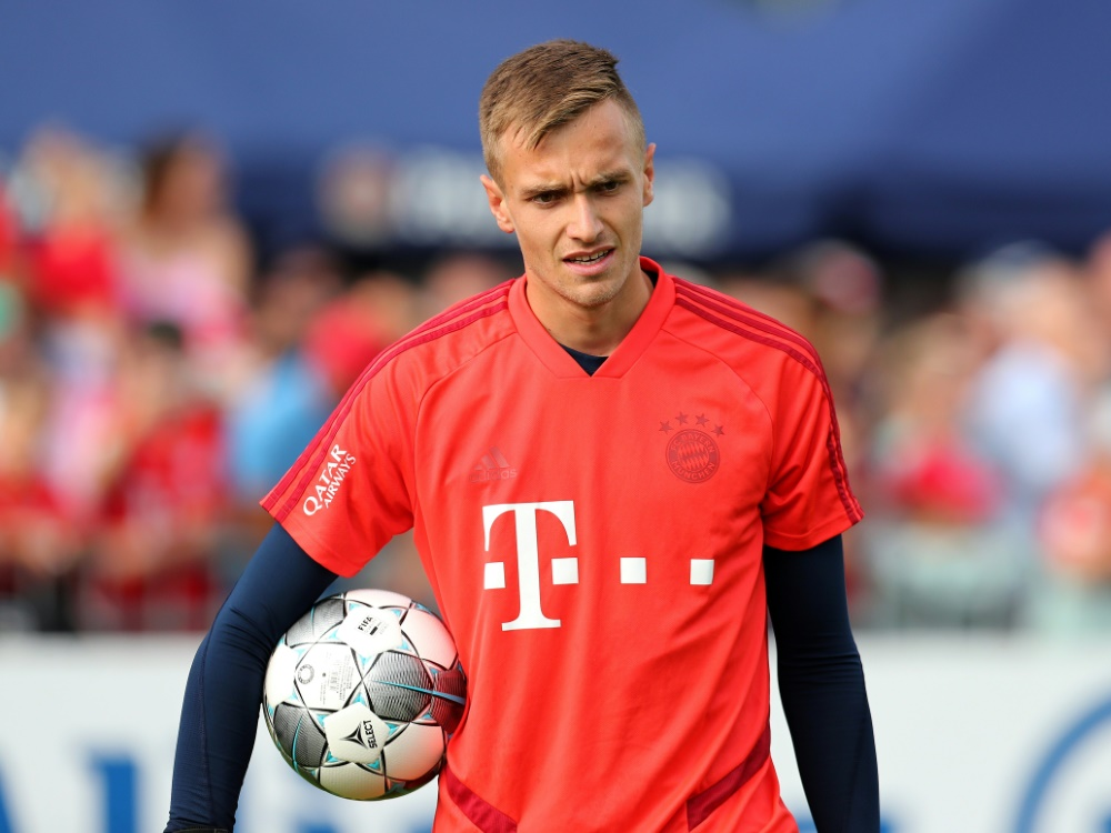 Christian Früchtl wurde mit den Bayern Drittliga-Meister