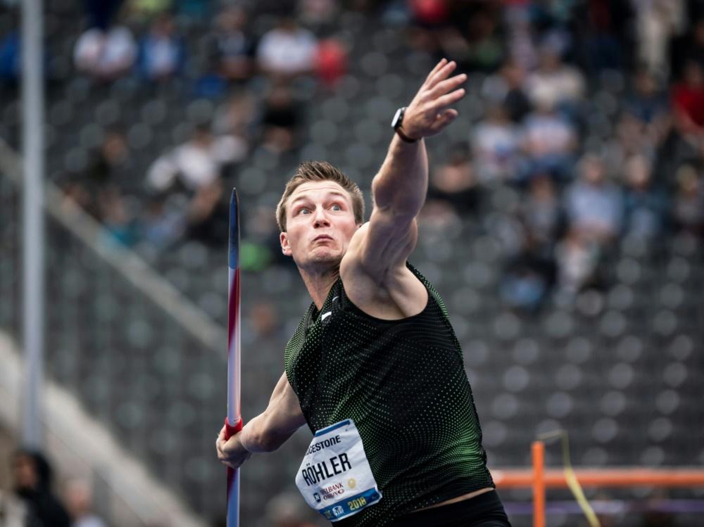 Speerwurf-Olympiasieger Thomas Röhler ist optimistisch