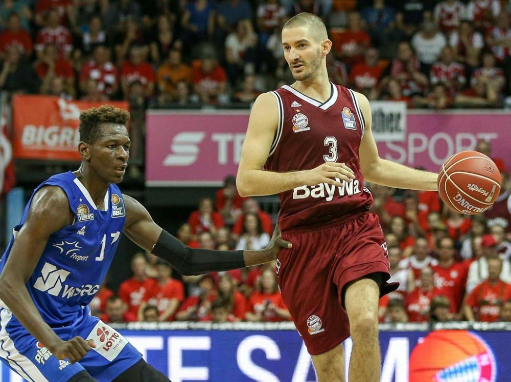Isaac Bonga (l.) ist für den NBA-Draft gemeldet