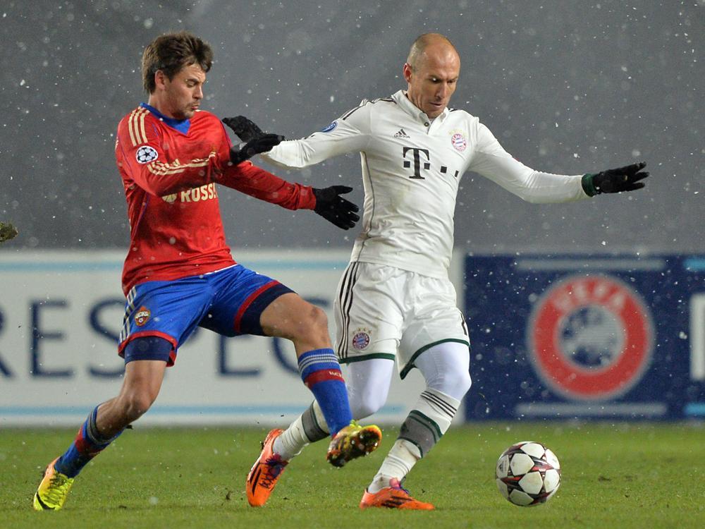 ZSKA gegen Bayern: Ohne Zuschauer im Ausweichstadion