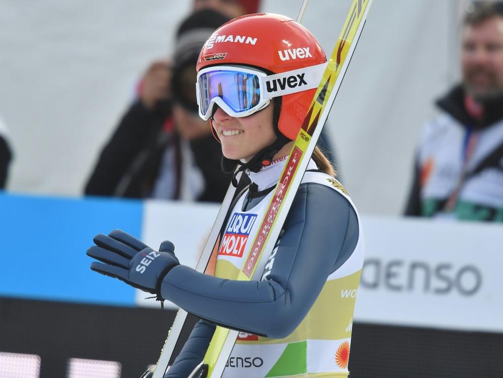 Rückschlag für Katharina Althaus in Sapporo