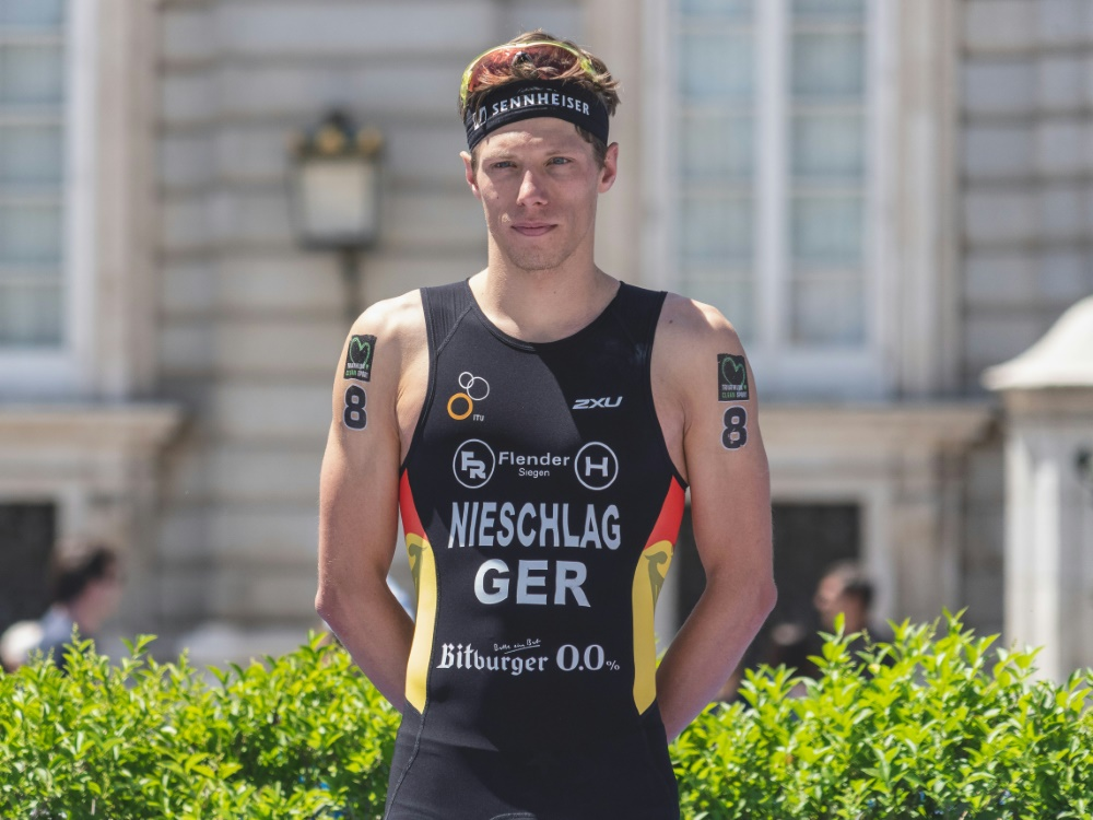 Justus Nieschlag holt EM-Silber mit der Mixed-Staffel