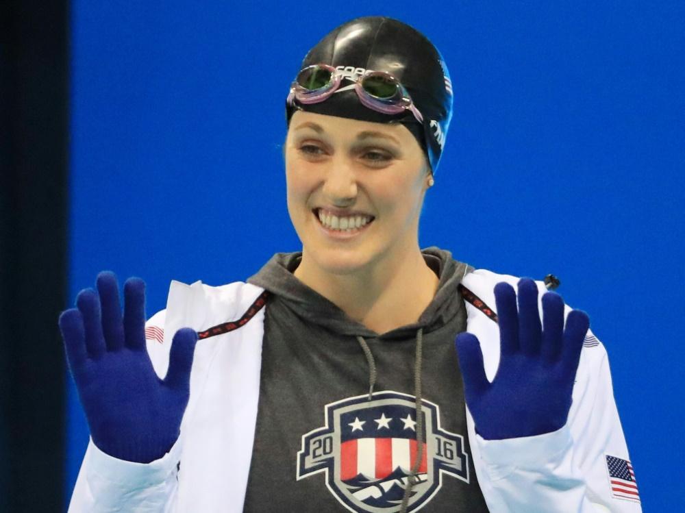 Franklin beendet ihre Schwimmkarriere mit 23 Jahren