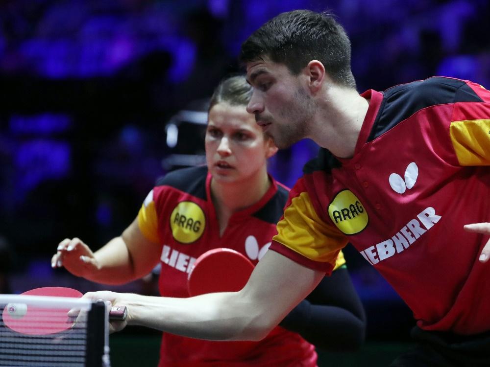 Solja (l.) und Franziska haben die Goldmedaille gewonnen