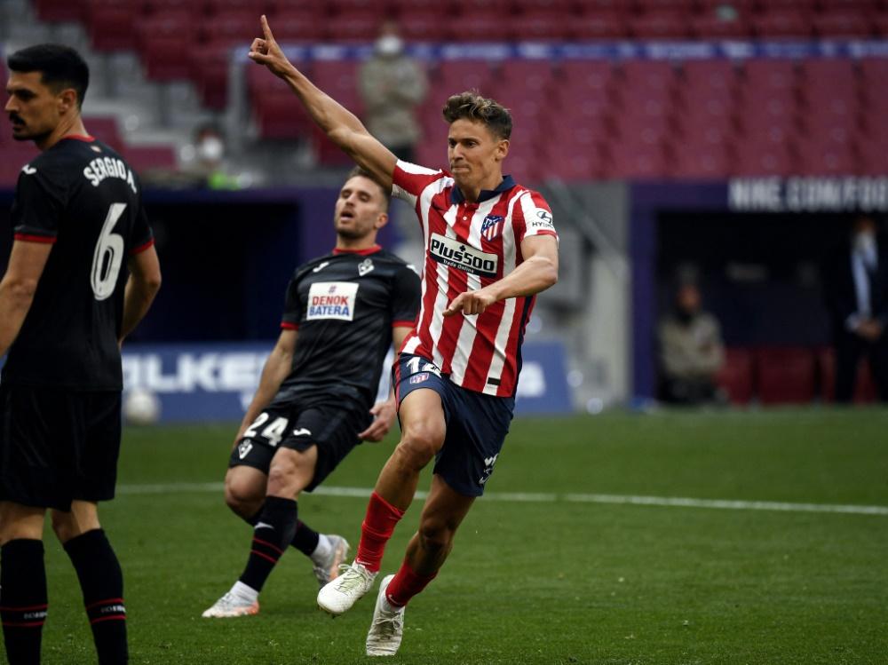 Sieg für AtléticoMadrid in La Liga