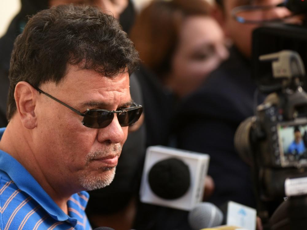 Die FIFA sperrt Vasquez wegen Korruption und Geldwäsche