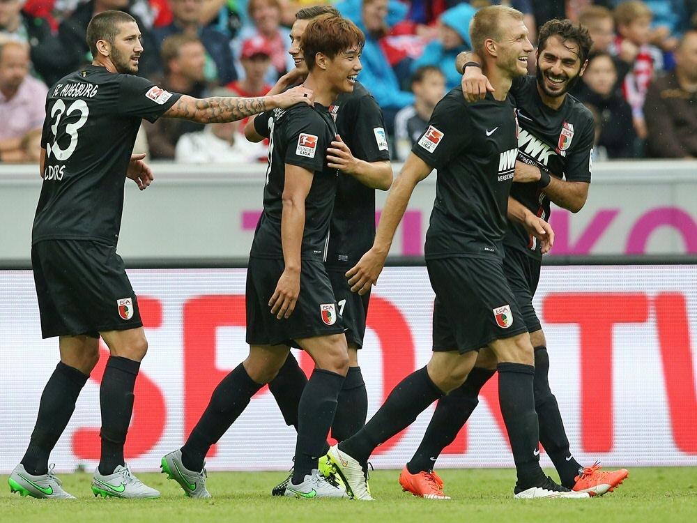 Augsburg siegte glanzlos beim TSV Rain mit 3:0
