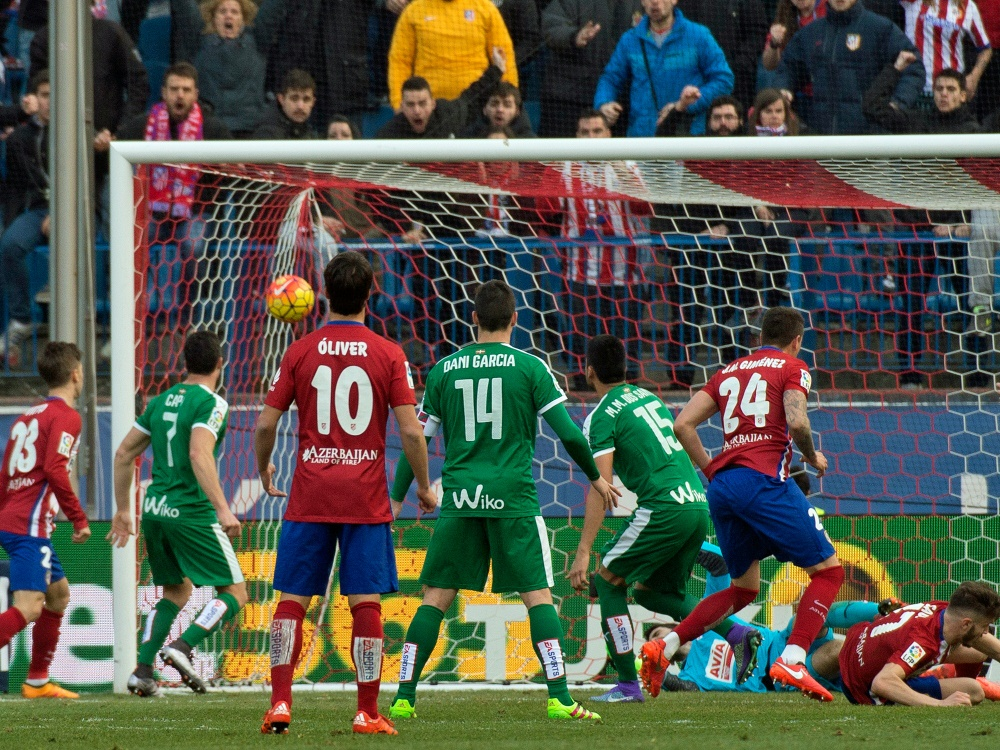 Atletico Madrid gewinnt nach Rückstand gegen Eibar