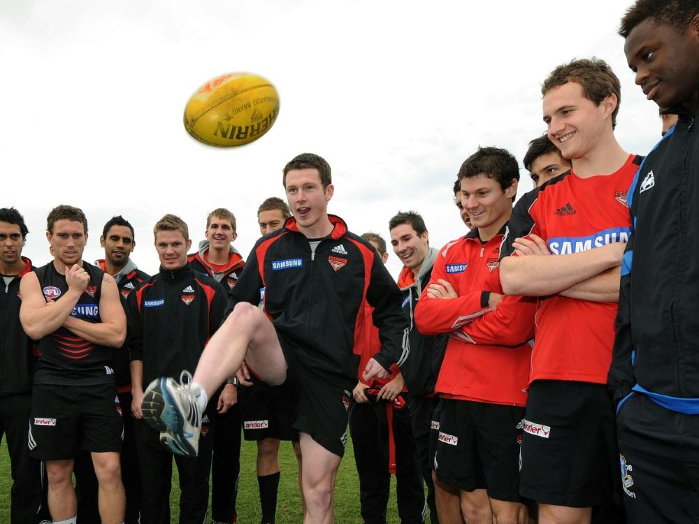 Pause im Aussie Rules Fotball