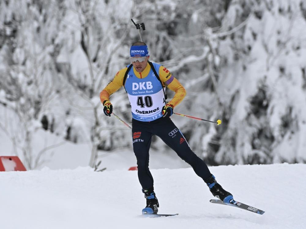 Ehemaliger Biathlon-Weltmeister: Erik Lesser
