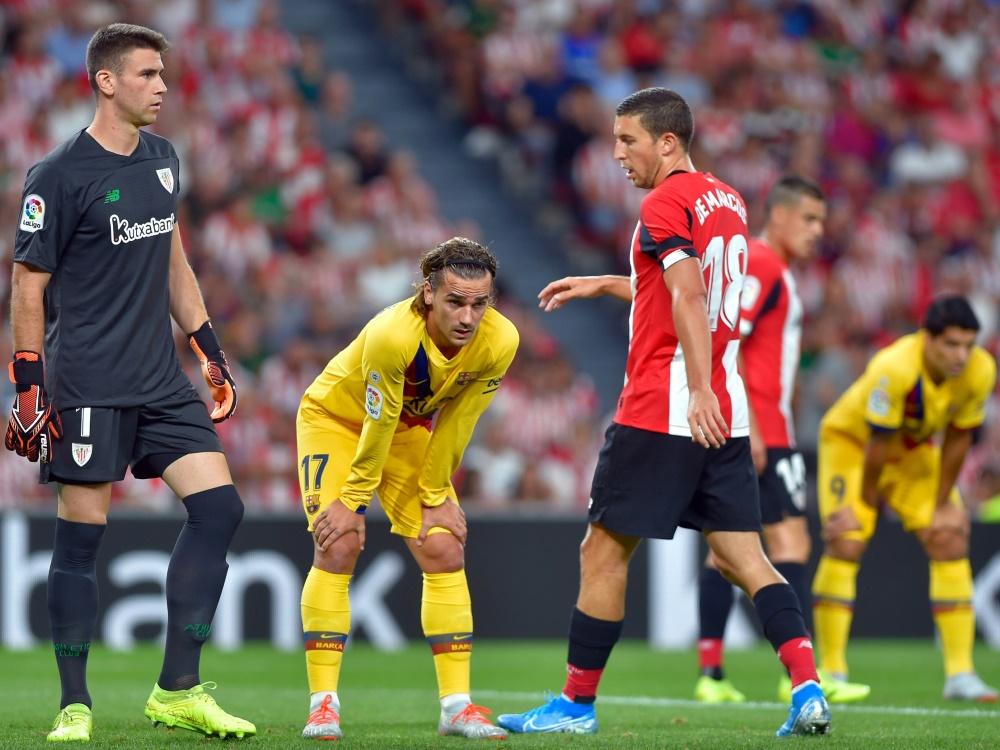 Der FC Barcelona patzte gegen Athletic Bilbao