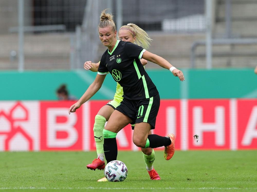 Alexandra Popp eröffnet mit dem VfL Wolfsburg die Saison