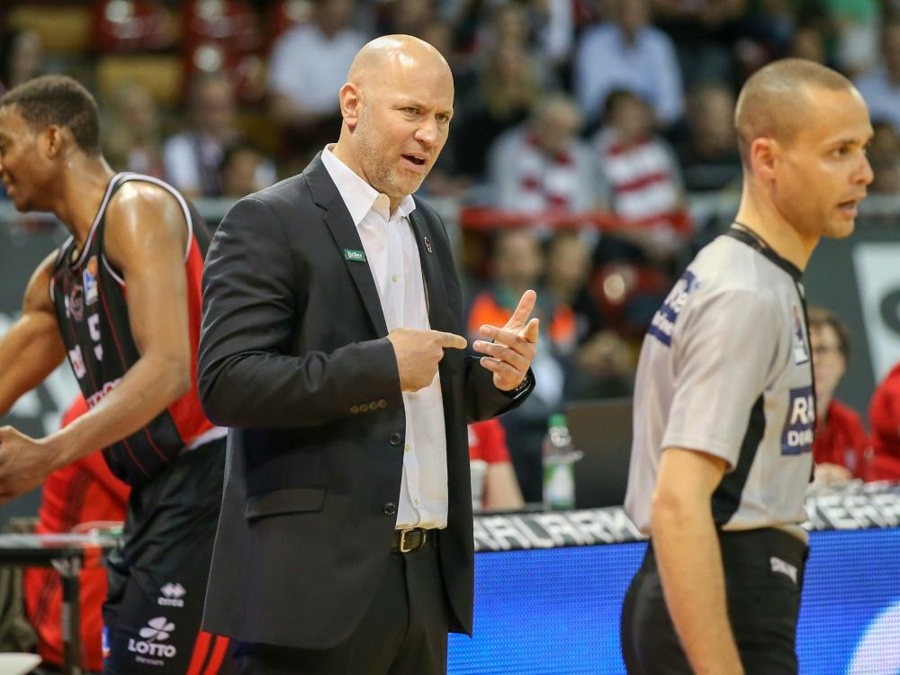 Freut sich auf den Neuzugang: Coach Denis Wucherer