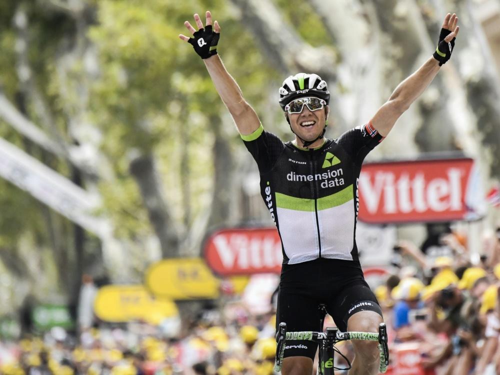 Boasson Hagen hat die 19. Etappe der Tour gewonnen