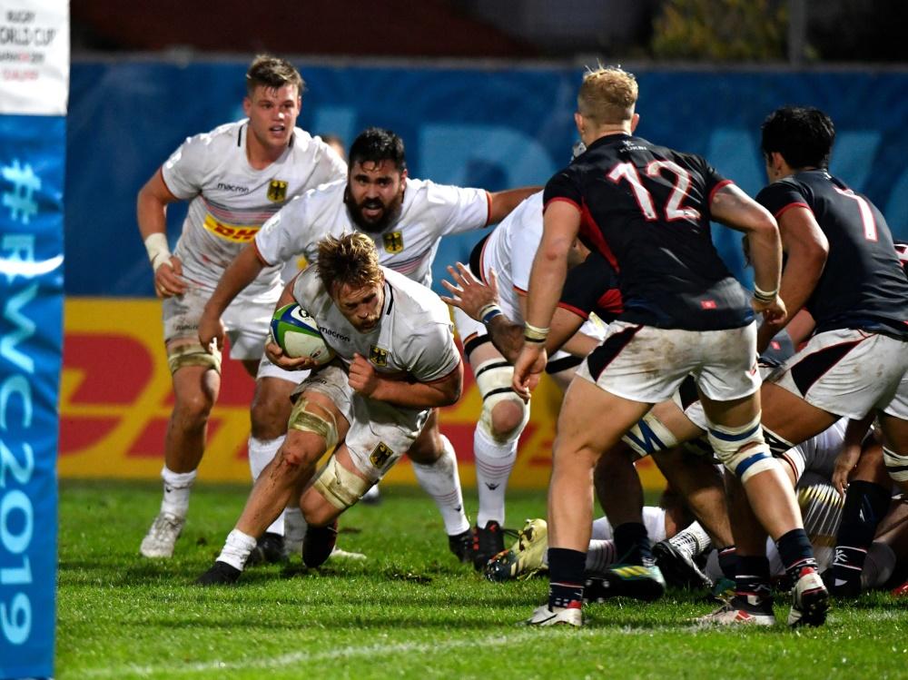 Die deutsche Rugby-Mannschaft besiegt Hongkong mit 26:9