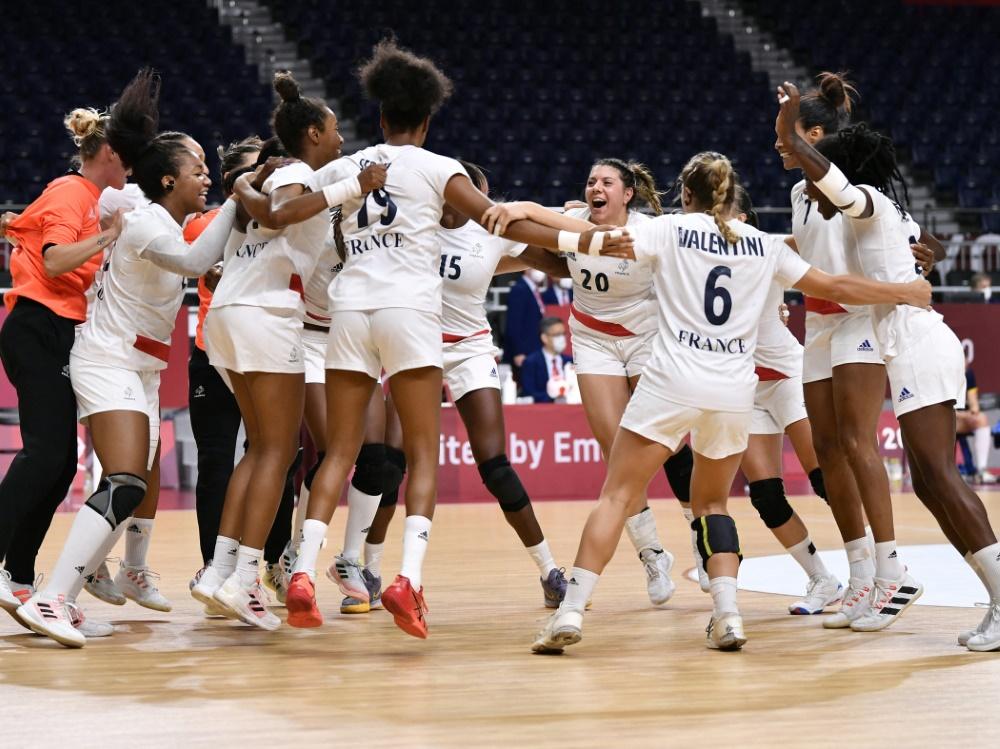 Frankreichs Handballerinnen stehen im Endspiel
