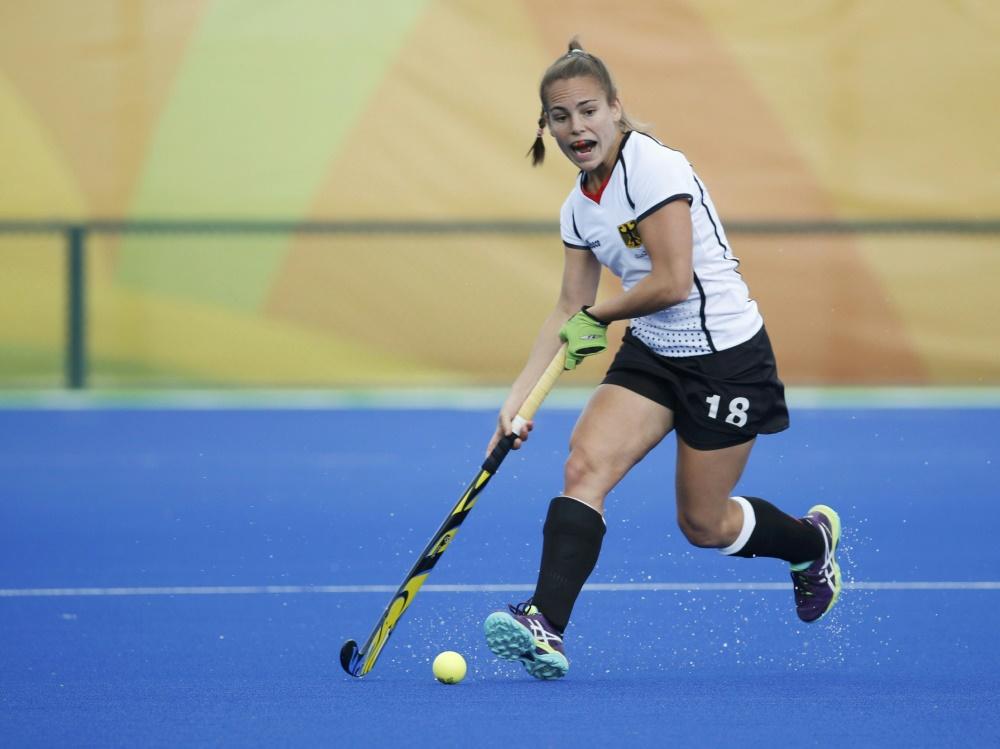 Lisa Altenburg trifft beim 3:0-Sieg gegen Irland